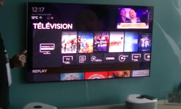 d couvrez la d monstration de l interface tv de la freebox delta par un d veloppeur free i. Black Bedroom Furniture Sets. Home Design Ideas